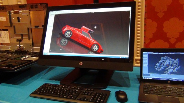 HP's new Z1 G2 all-in-one workstation has a 27-inch touchscreen, Nvidia Mobile Quadro GPUs, and Xeon or Core Intel processors. It opens up without tools for maintenance.