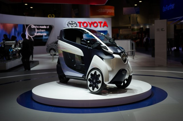 Car day at CES included a quick look at this interesting concept from Toyota.