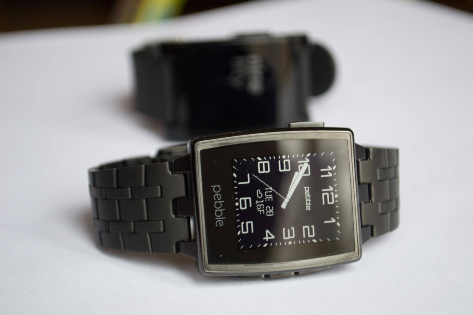 The Pebble Steel review: Wearables 2.0 arrive