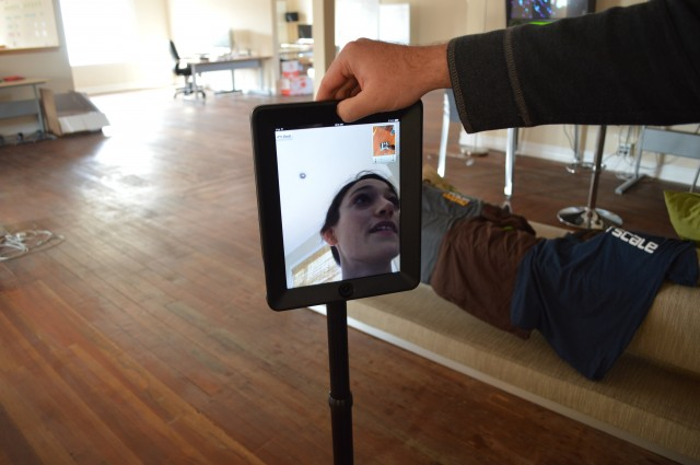 Ars rolls in with a telepresence robot