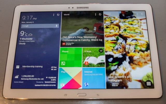 "Hands-on with Samsung's NotePro and TabPro: New screen sizes and ""Magazine UI"""