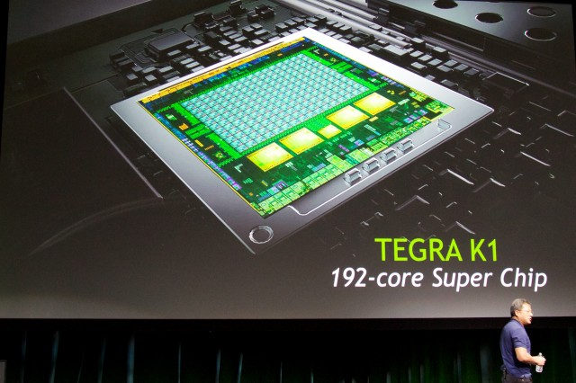 Nvidia's new Tegra K1 SoC.