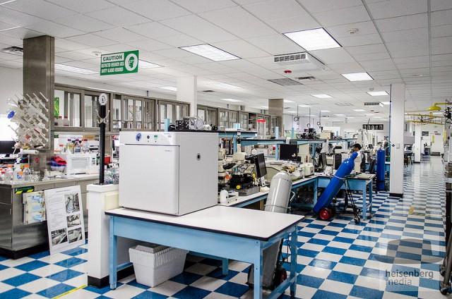 Intellectual Ventures' laboratory in Bellevue, Washington.