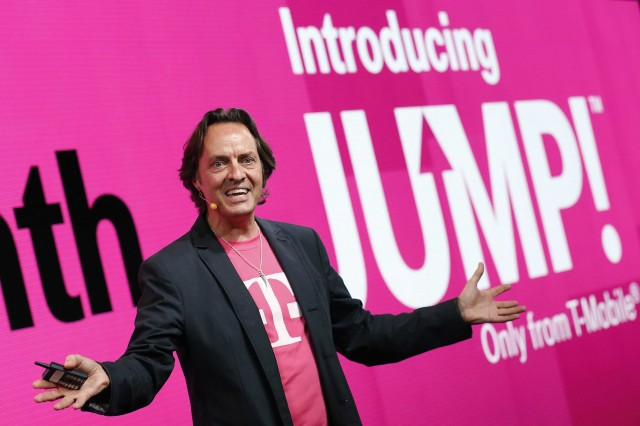 T-Mobile CEO John Legere has reason to be happy today.