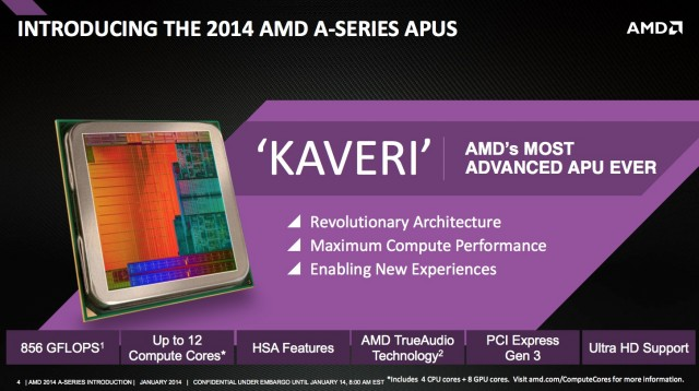 AMD's Kaveri has a good GPU and some interesting ideas, but it will need developer support to really shine.