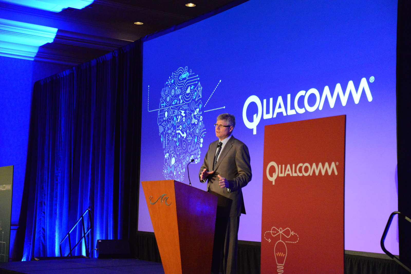Qualcomm CEO Steve Mollenkopf explains it all.