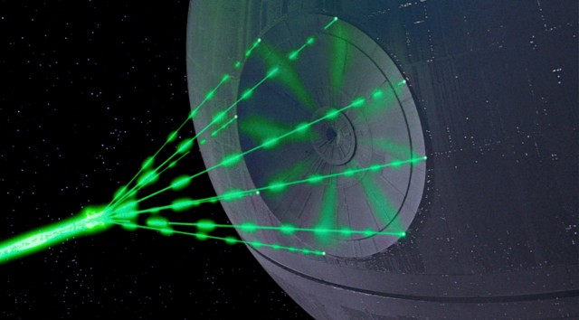 Giant laser could arrange particles into enormous space telescope