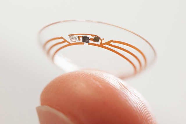Google's Smart Contact Lens.