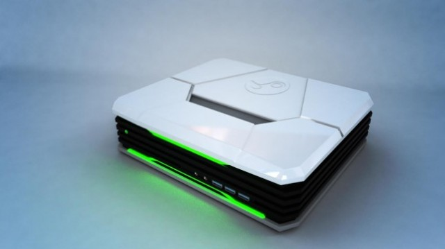 CyberPowerPC's Steam Machine chassis looks like something out of a <i>Portal</i> game.