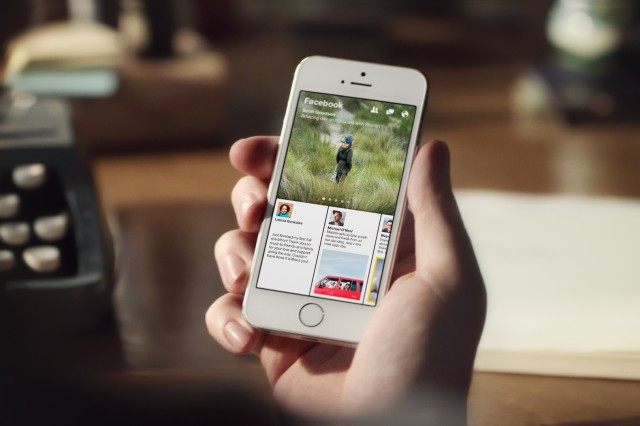 Facebook's Paper focuses on content curation and a full-screen experience.
