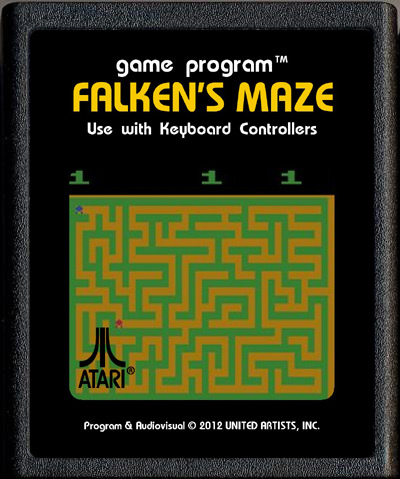 <em>Falken's Maze</em>: a game with a backdoor in the movie <em>War Games</em>.