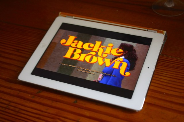Stream movies before they're released? (Pretend <em>Jackie Brown</em> is the hot, new VOD option...)
