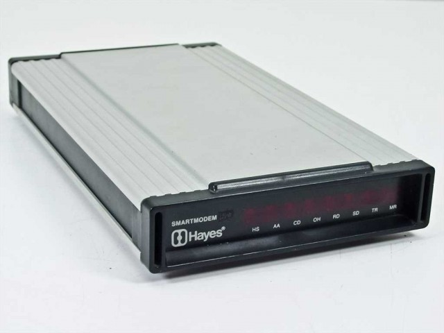 Chunky, heavy, and awesome: the Hayes Smartmodem 2400.