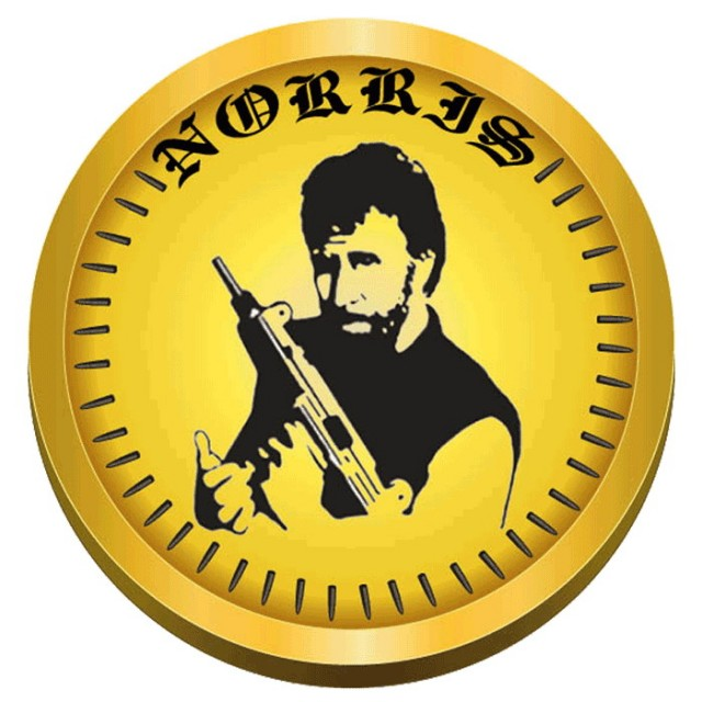 Chuck Norris can shut down your wannabe Bitcoin with just his fingers
