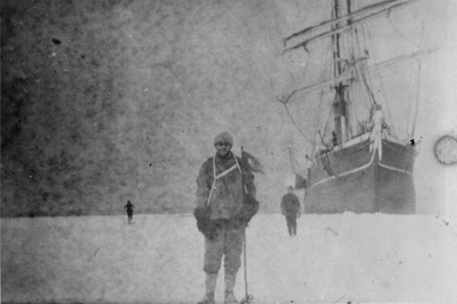 Lost photos of Antarctic expedition uncovered