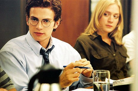 Infamous journalist Stephen Glass was portrayed by Hayden Christensen in <em>Shattered Glass,</em> a 2003 movie about his brief career at <em>The New Republic</em>. Chloe Sevigny played Caitlin Avey, a character modeled on one of Glass' coworkers.