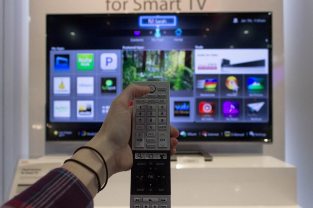 Really, with this remote. We can't keep doing this to our fellow human beings, Toshiba.