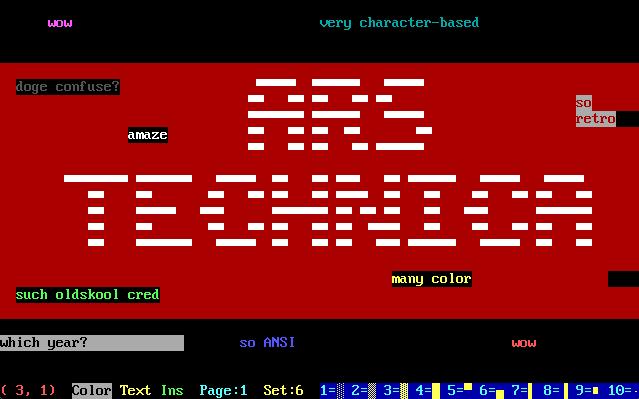 Modems, wArEz, and ANSI art: Remembering BBS life at 2400bps | Ars