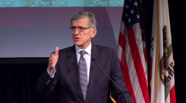 FCC Chairman Tom Wheeler.