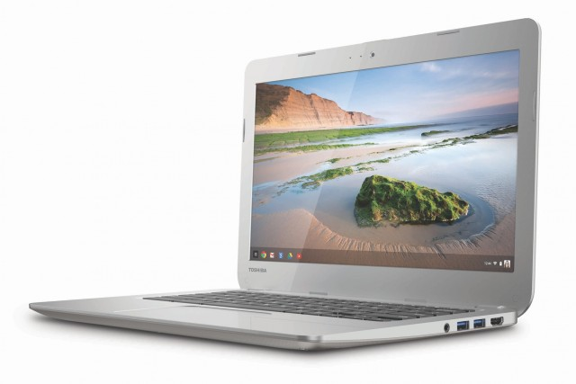 Toshiba's new 13.3-inch Chromebook.