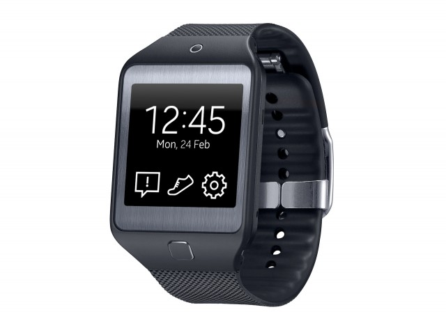 The Gear 2 Neo is made of plastic and is camera-free. Given the camera in the original Galaxy Gear, this may not be a huge loss.