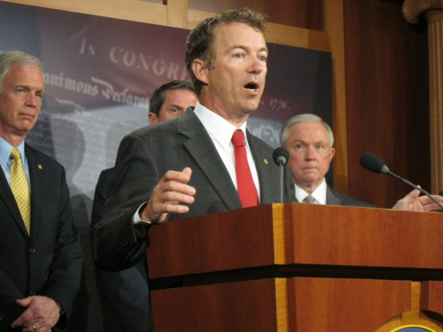 Sen. Rand Paul is a well-known libertarian politician from Kentucky.