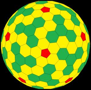 Goldberg polyhedron.