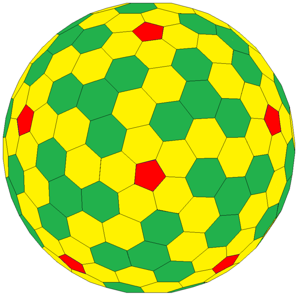 Goldberg polyhedron.