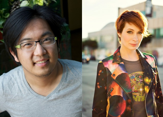 Freddie Wong and Felicia Day will host tonight's DICE Awards at 7:30pm Pacific  time.
