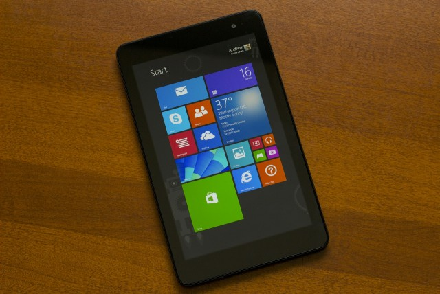Dell's Venue 8 Pro, a Windows 8.1 tablet that's much better than some of its early relatives.