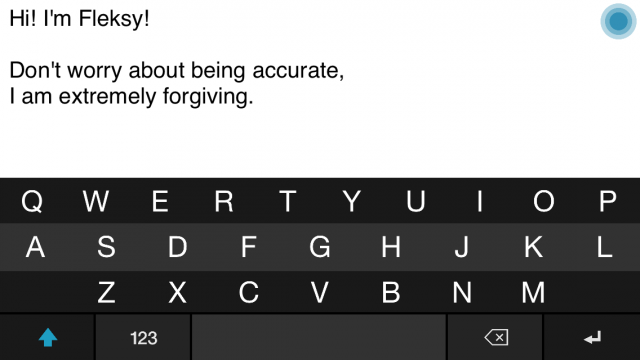 Fleksy's new keyboard API is trying to circumvent Apple's keyboard restrictions.