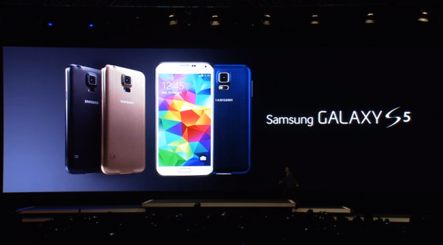 Galaxy S5 Unpacked to MWC