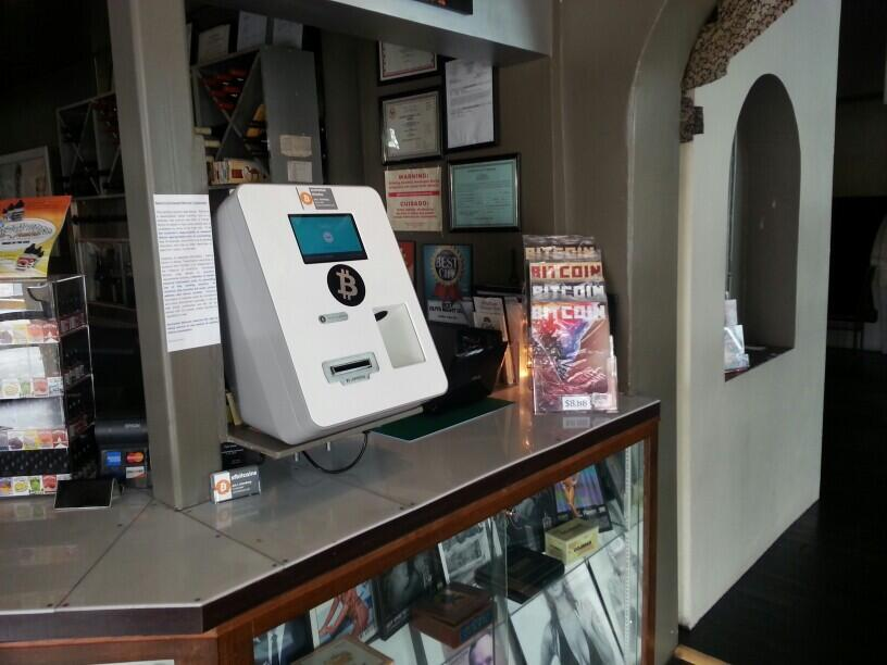 A Bitcoin ATM in Albuquerque, New Mexico.