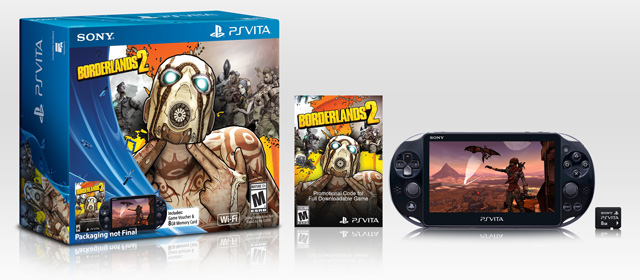 Slim PS Vita hits North America this spring with Borderlands 2