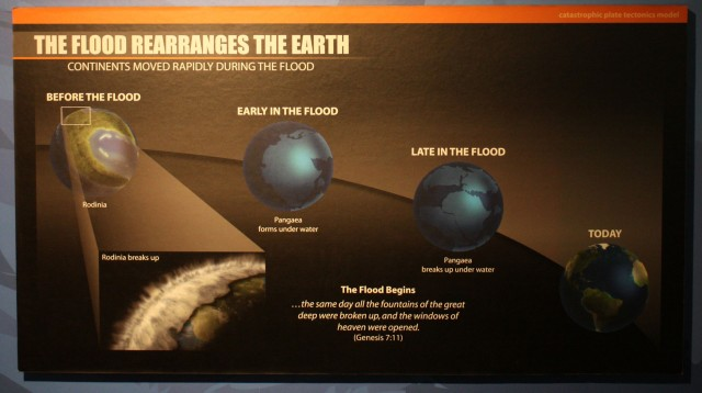 Continental drift happened faster in the past. Much faster.