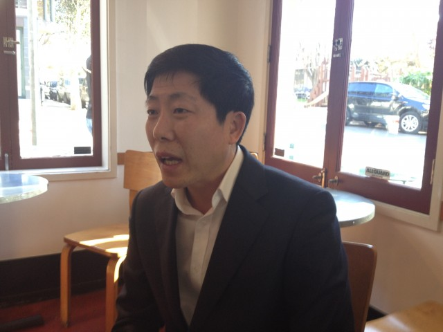 Park Sang Hak met this week with engineers from Wikipedia, lawyers from the Electronic Frontier Foundation, and others in the San Francisco Bay Area.