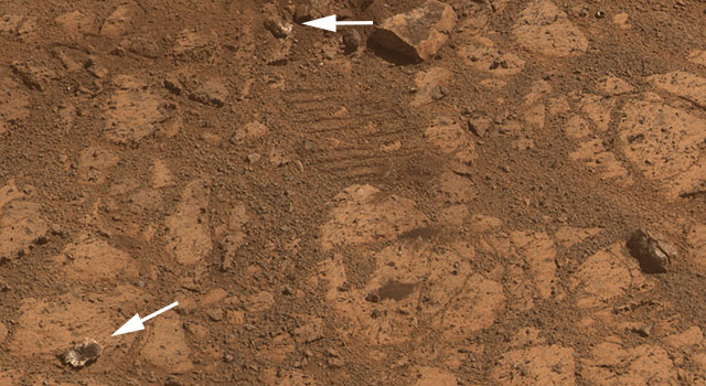 NASA solves mystery of jelly doughnut-shaped rock on Mars ...