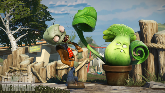 Plants vs. Zombies: Garden Warfare throws players into the weeds