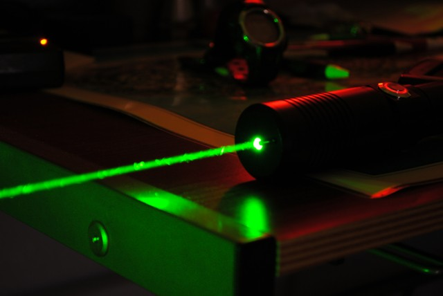 Man sentenced to a year in jail for firing laser 50 times at police plane