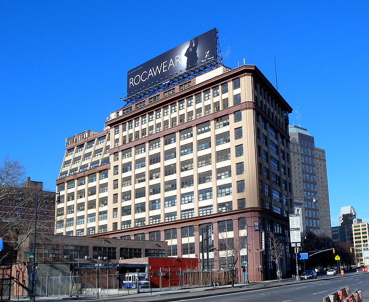 Sperry Gyroscope Company headquarters at 40 Flatbush Avenue Extension, Brooklyn. At one point, the Sperry offices were a temporary site for the UN.