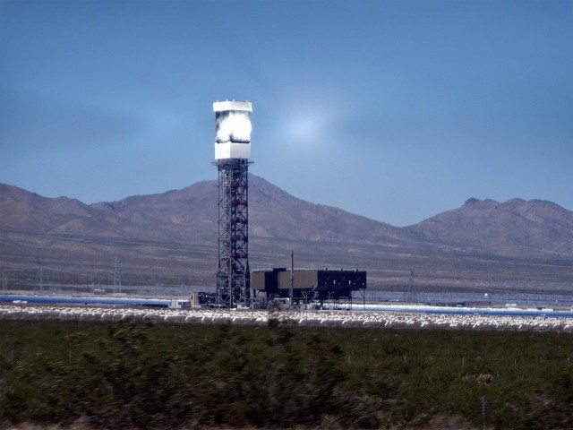 Super Bright Solar Power Plant Blinding Pilots Around