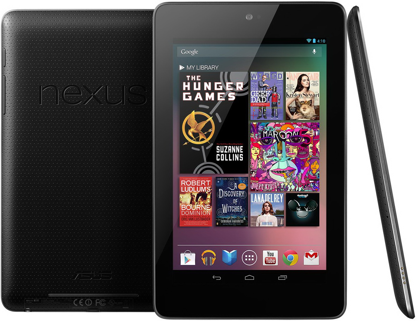 The Asus-made Nexus 7, Android 4.1's launch device.