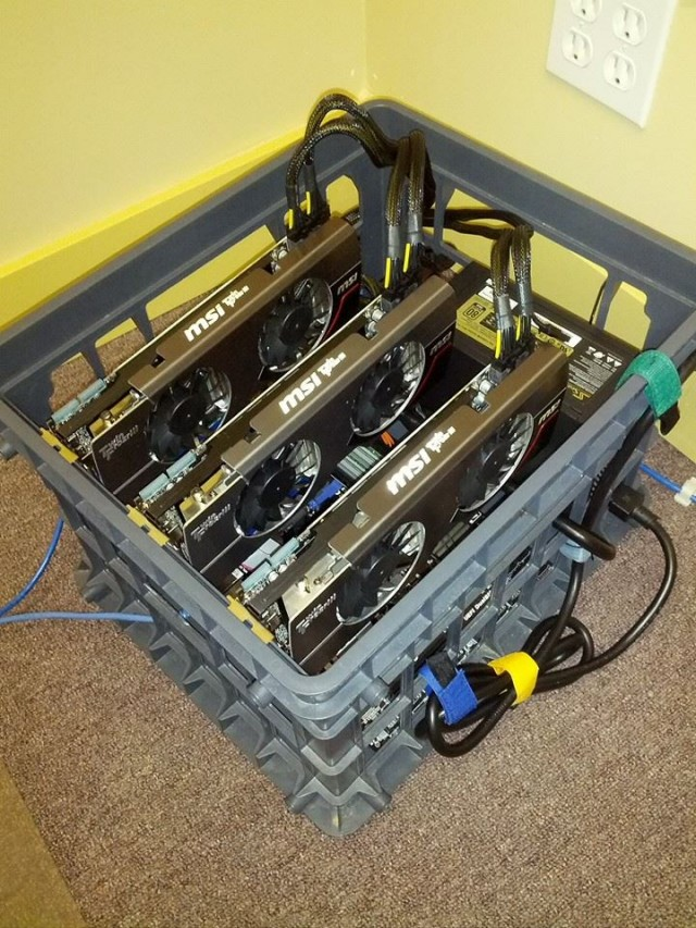 Here's Ariaxu's Arscoin mining setup (outlined below).