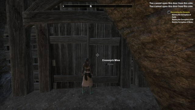 Oh look, a <i>Skyrim</i>-like dungeon in the wilderness and... I can't open it.