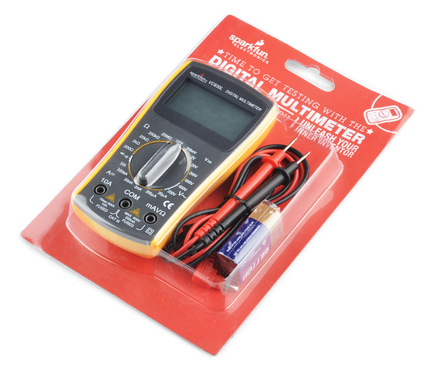 Image result for multimeter sparkfun