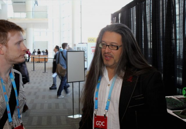 Romero chats with Ars' Sam Machkovech at this year's GDC.