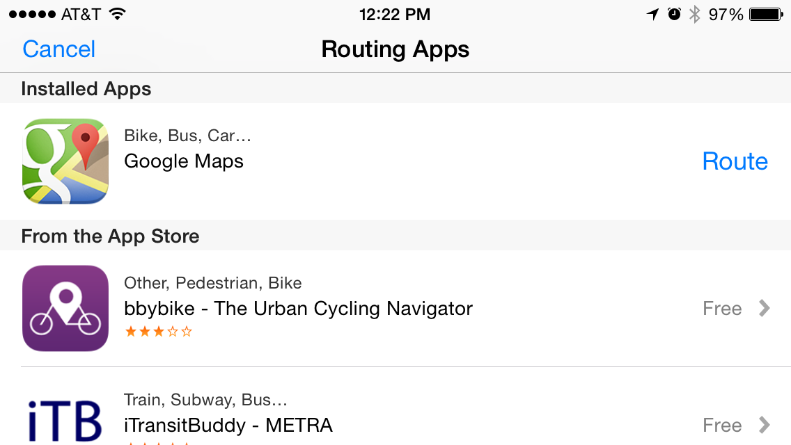 Apple Maps still can't do its own work when it comes to public transit directions.