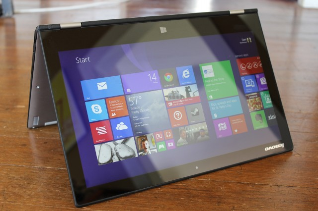 Lenovo Yoga 2 Pro review: You say you want resolution