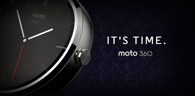 The Moto 360 is the first Android Wear device, has a round display