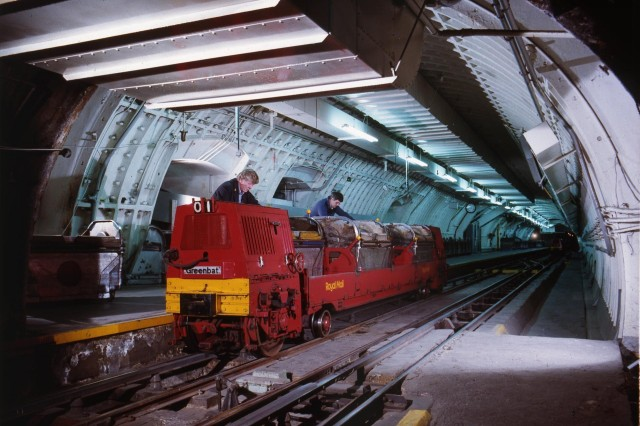 "Ride London's abandoned underground ""Mail Rail"""